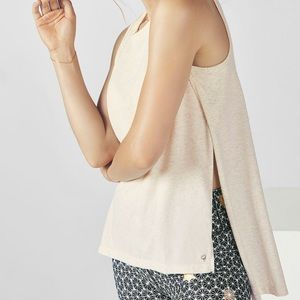 Fabletics Augusta side slit top